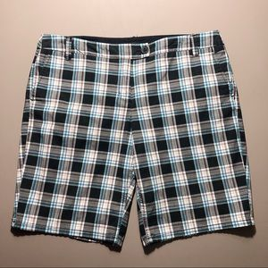 New York & Co Plaid Bermuda Short Size 14